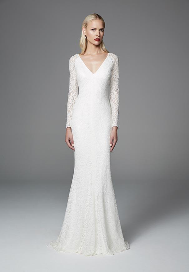 Hello may jennifer regan wilderbloom for Long silk wedding dress