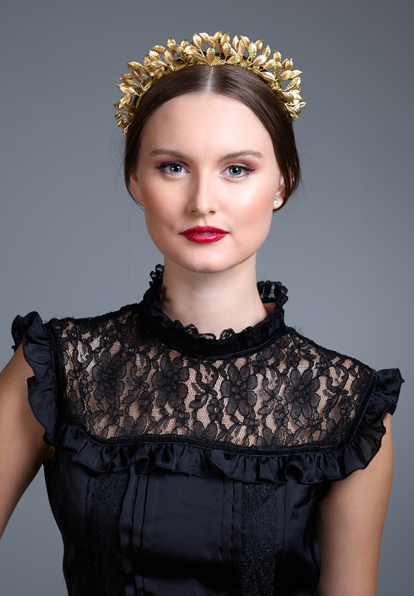 Viktoria-Novak-The-Pale-Empress-gold-leaf-wreath-bridal-accessories-crown7