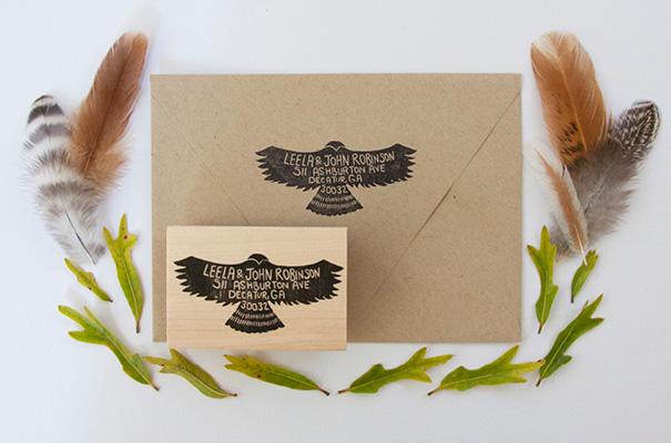 native-bear-etsy-custom-address-stamp-rsvp-wedding-stationery-invitation3