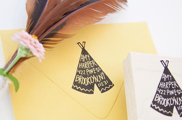 native-bear-etsy-custom-address-stamp-rsvp-wedding-stationery-invitation8