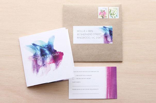 pink-blue-modern-watercolour-wedding-stationery-invitation-square-kraft-envelope