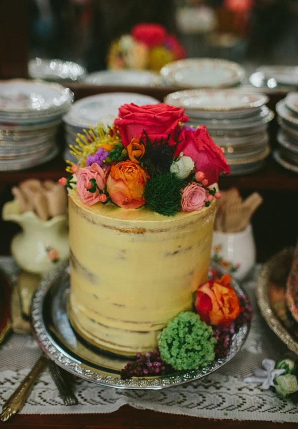 WA-bright-wedding-bridal-flowers-colourful-ribbons-diy-short-wedding-dress8