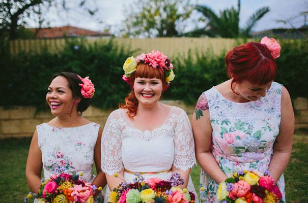 bright-wedding-bridal-flowers-colourful-ribbons-diy-short-wedding-dress11