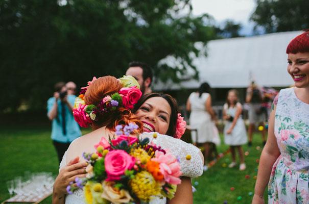 bright-wedding-bridal-flowers-colourful-ribbons-diy-short-wedding-dress20