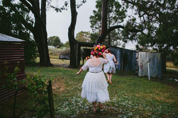 bright-wedding-bridal-flowers-colourful-ribbons-diy-short-wedding-dress29