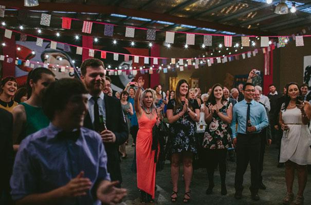bright-wedding-bridal-flowers-colourful-ribbons-diy-short-wedding-dress41