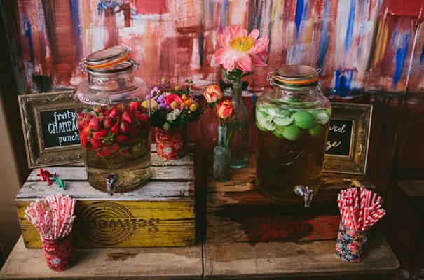 bright-wedding-bridal-flowers-colourful-ribbons-diy-short-wedding-dress45