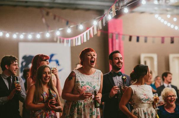 bright-wedding-bridal-flowers-colourful-ribbons-diy-short-wedding-dress47