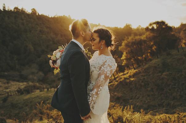 Simple Wedding Dresses Nz: Hello May · SALLY + DAN
