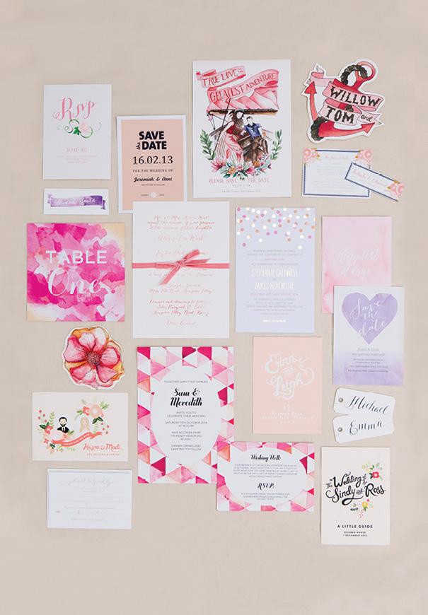pink-purple-red-watercolour-handrawn-wedding-invitation-stationery