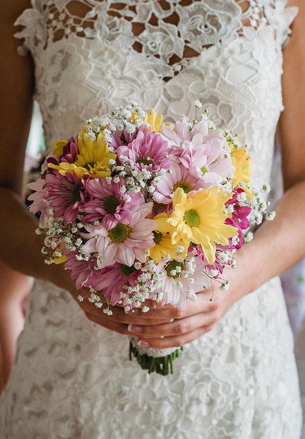 WA-backyard-wedding-wild-daisies-purple-yellow