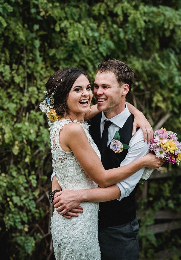 WA-backyard-wedding-wild-daisies-purple-yellow3