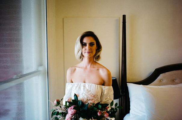 Simple Wedding Dresses Perth: Hello May · REBECCA + STU