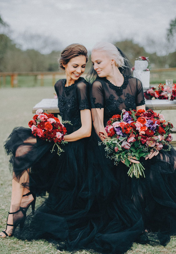 Hello may samuel goh styled shoot for Black floral dress to a wedding
