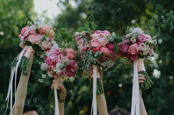 melbourne-urban-wedding-oli-sansom-blush-pink-vintage-retro-wedding-bridal-gown22