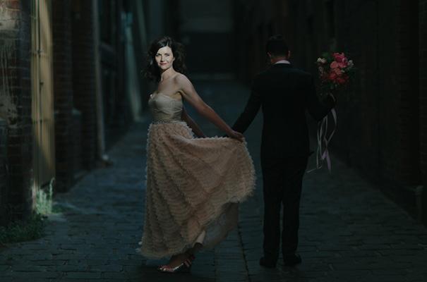 melbourne-urban-wedding-oli-sansom-blush-pink-vintage-retro-wedding-bridal-gown26