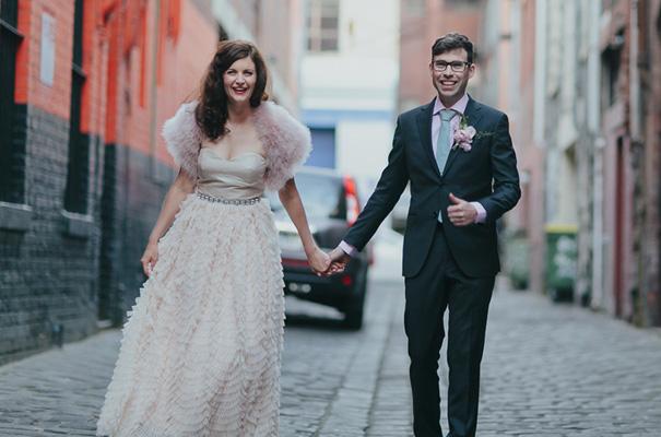 melbourne-urban-wedding-oli-sansom-blush-pink-vintage-retro-wedding-bridal-gown31