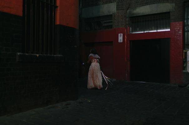 melbourne-urban-wedding-oli-sansom-blush-pink-vintage-retro-wedding-bridal-gown46