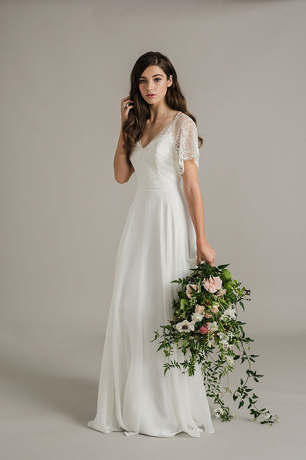 Hello may sally eagle 2017 collection for Wedding dresses with half sleeves