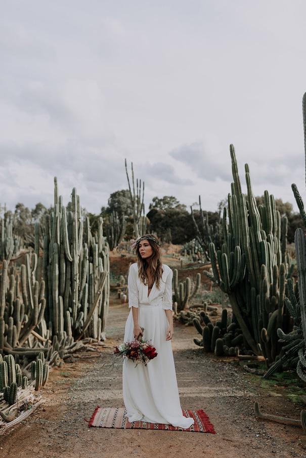 Cactus Wedding Dress